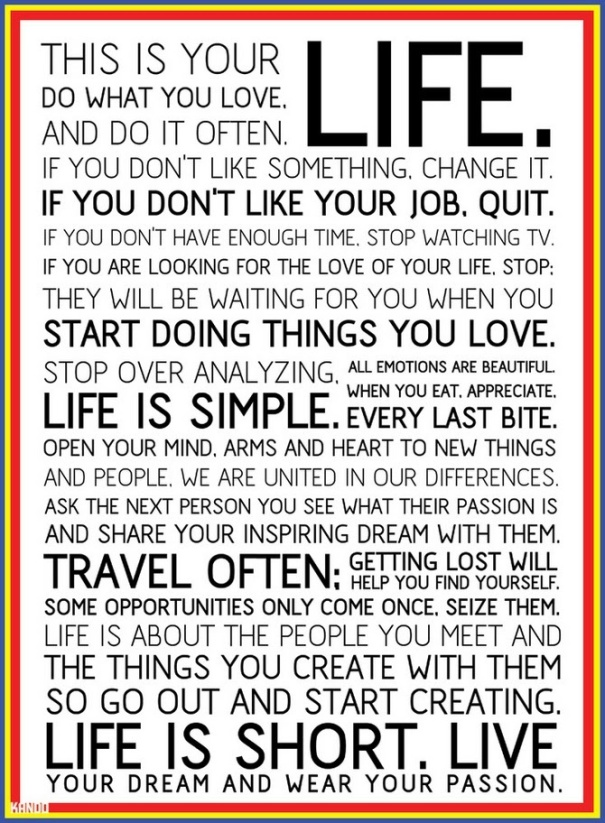 The Holster Manifesto - This is Your Life!